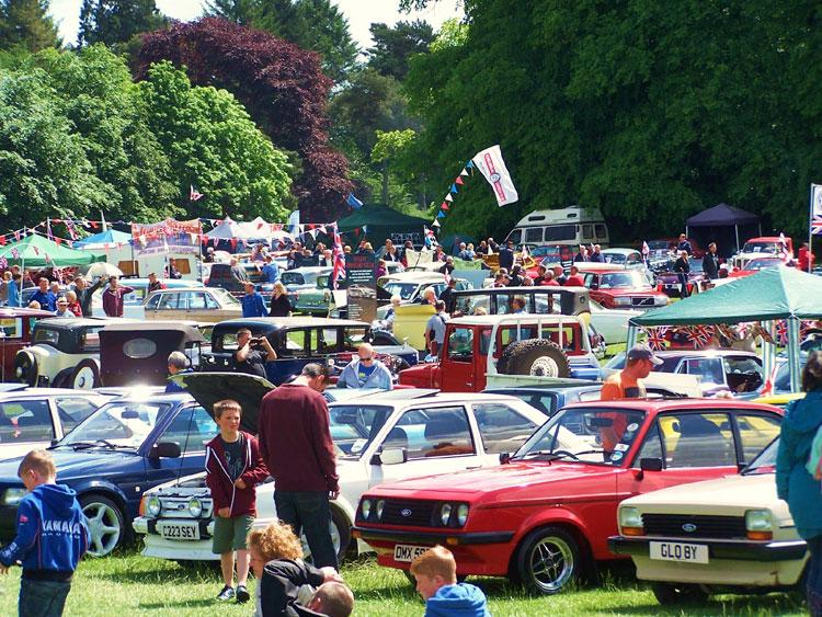 Tatton Park Classic Car Show