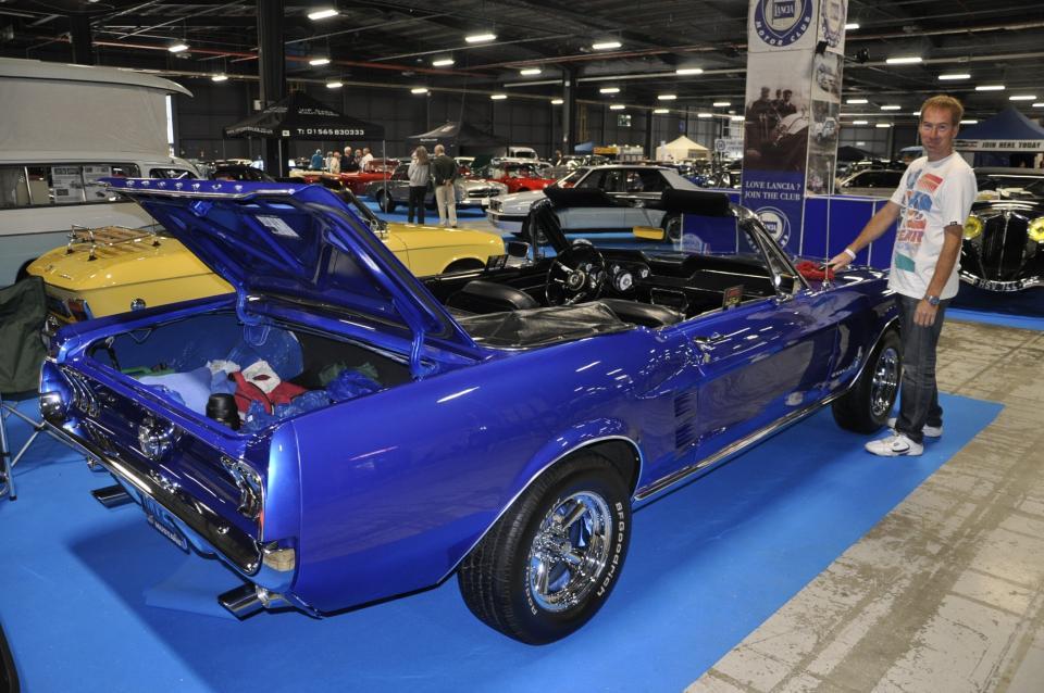 Mark Ravenscroft's beautiful 1967 Ford Mustang Convertible