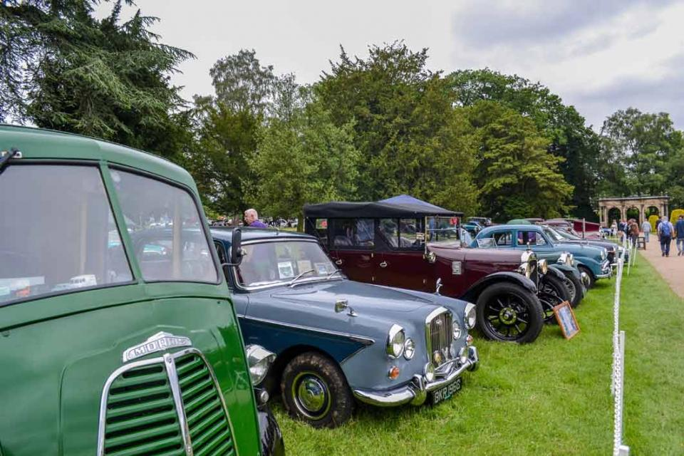 Trentham Gardens - over 1000 classics turned out