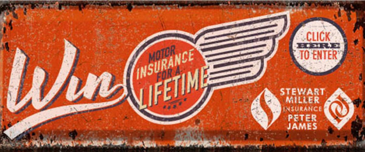 WIN Motor Insurance for a Lifetime!